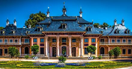 Dresden, Schloss Pillnitz, Bergpalais