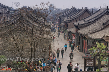 The Old Town of Pingyao - Старый город Пинъяо