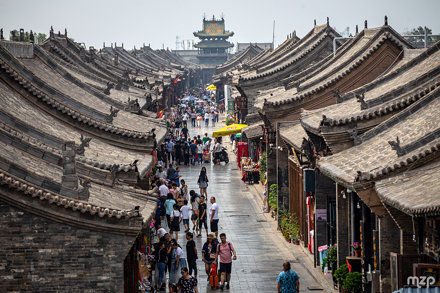 Streets of Pingyao.