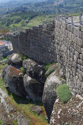 Walls of Pinhel Castle