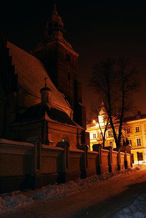 Old Town Zimą