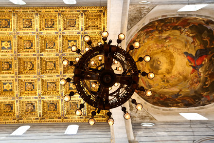 Pisa Cathedral Ceiling