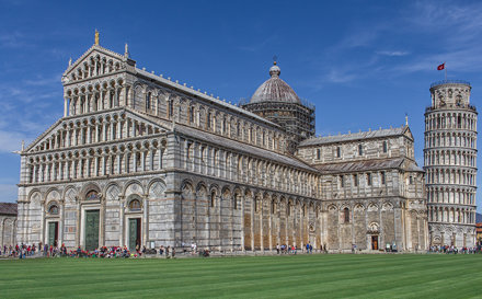Cathedral and Bell Tower, Square of Miracles, Pisa
