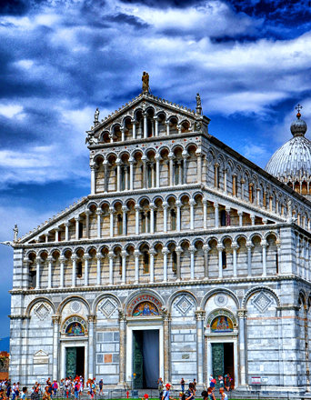 Facade of the Cathedral of Pisa