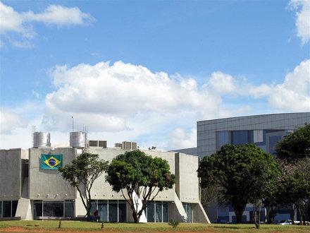 Planetário (Centro de Convenções ao fundo).
