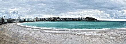 Panoramica HDR Playa Orzan