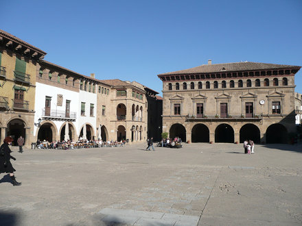 Plaza Mayor del Poble Espanyol de Montjuïc