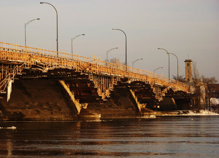 Pont-Viau, Laval, 30 déc. 2010.