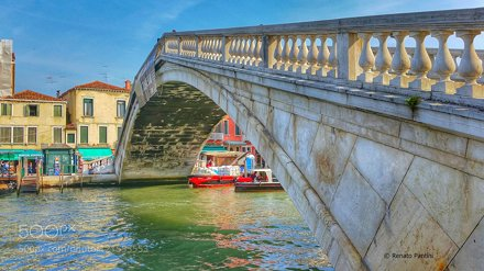 Ponte degli Scalzi, Venice.