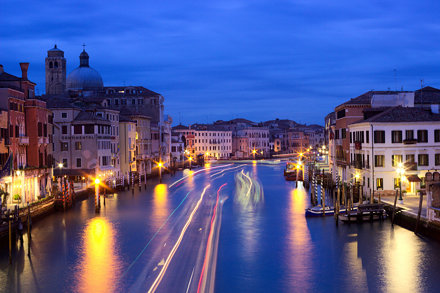 Canal Grande from Ponte degli Scalzi