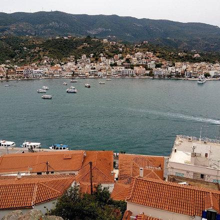 Остров Порос. День второй. Погода завтра обещает быть дождливой. Посмотрим. #greece #travel