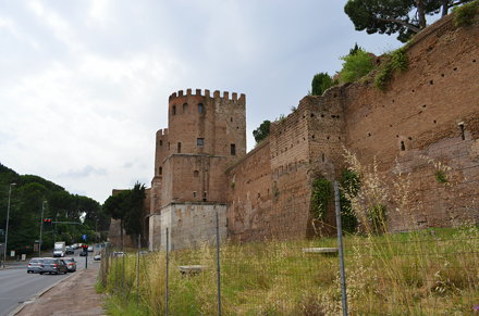 Aurelian Wall at the Porta Appia