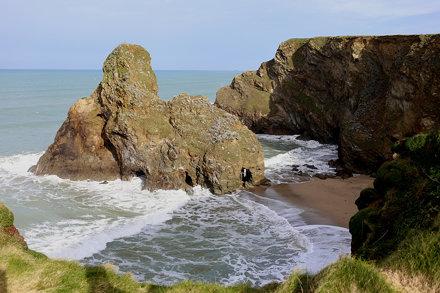 Black Humphrey Rock, Whipsiderry, Newquay