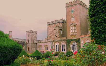 Powderham Castle, A topiary lovely Scent-sation