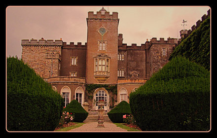 Powderham Castle- A garden with the cutting edge
