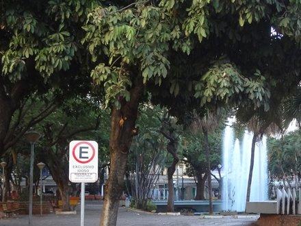 Praça Rui Barbosa em Rio Preto