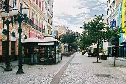 curitiba downtown