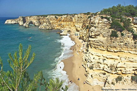 Praia da Marinha - Portugal