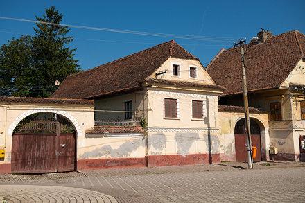 village street, Romania