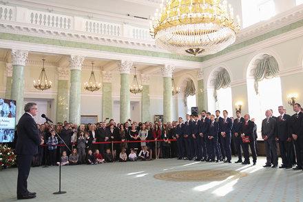 Odznaczenia dla reprezentacji Polski w Piłce Siatkowej Mężczyzn