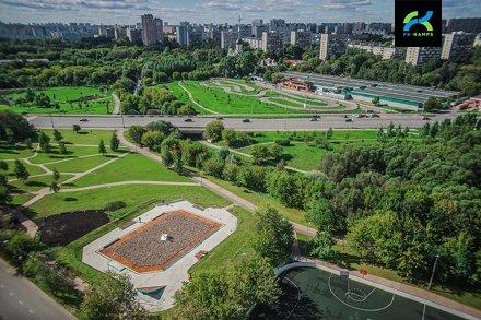 Скейтпарк Москва ул. Осташковская -14