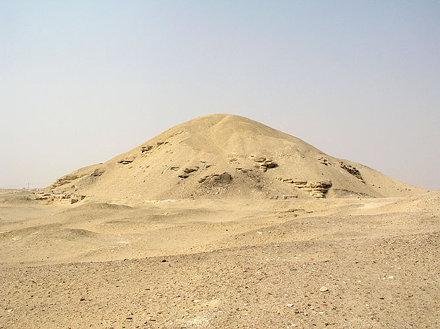 The pyramid of Amenemhet I at Lisht