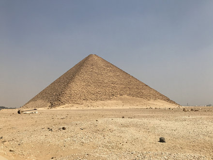 The Red Pyramid, Dahshur, Egypt.