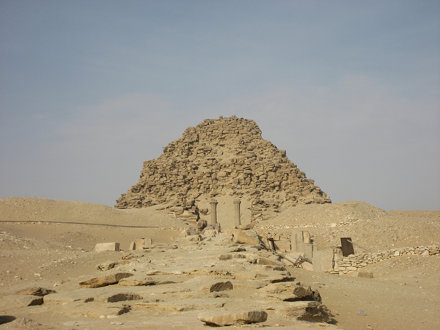 Pyramid of Sakure at Abusir