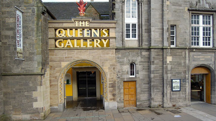 The Queen's Gallery, Holyrood Palace, Edinburgh