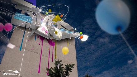 3d graffiti - Noise Dae Brisbane