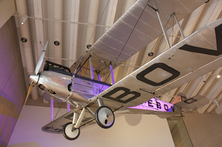 AVRO Avian G-EBOV @ Science Museum
