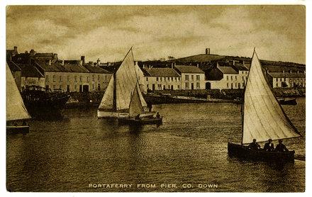 Portaferry 1925 photo/postcard scan