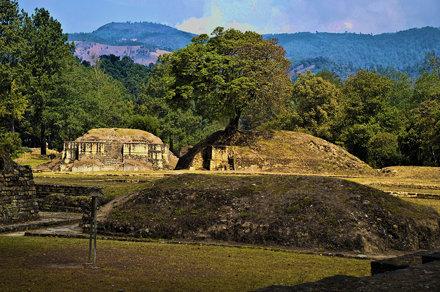 Ixichim Ruins, Tecpán, Guatemala, Central America