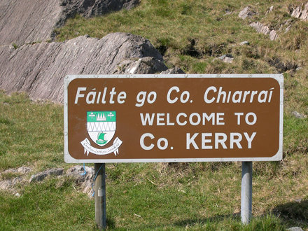 County Kerry sign