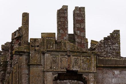 Raglan Castle Ruins