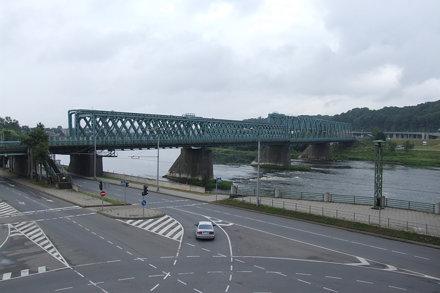 Railway bridge over Neman River, 13.07.2013.