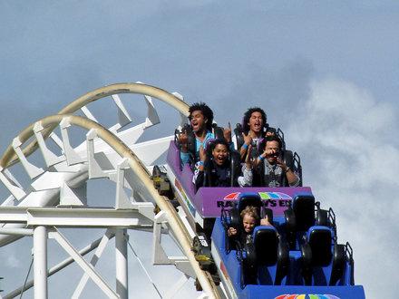 High Adrenalin - Corkscrew Coaster