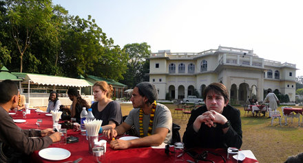 Waiting for more chowpatty