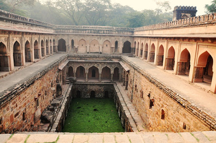 Rajon ki baoli: beautifully sculpted stepwell