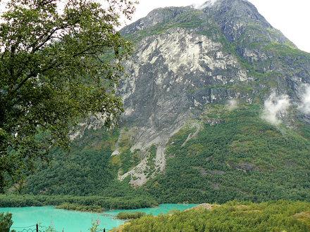 Ramnefjellet, åsted for  Loenulykkene