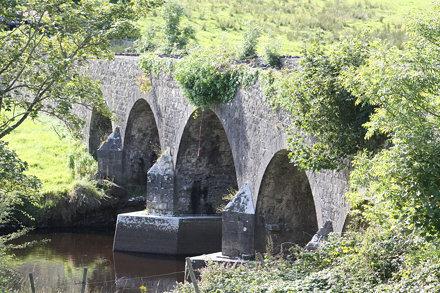 Crossmolina, Co. Mayo; Bridge in Colour