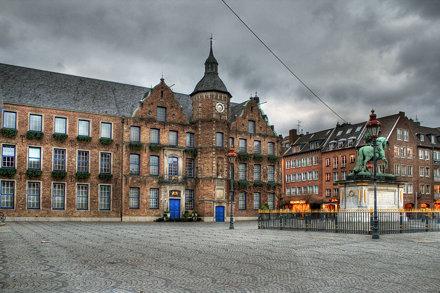 City hall, Düsseldorf, Germany