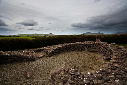 Reask monastic site, Dingle Peninsula, Ireland.