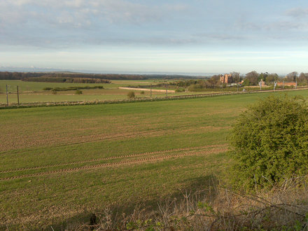 Redhouse Castle from Haddington to Longniddry Railway Walk