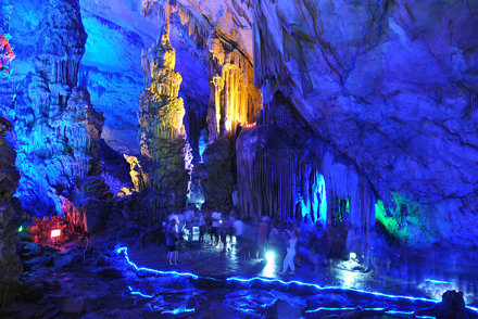 china 1 1402 Reed Flute Cave. Guilin Guangxi China
