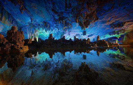 Reed Flute Cave , Kuilin