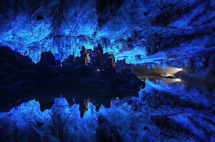 Colorful Underground Landscape Download