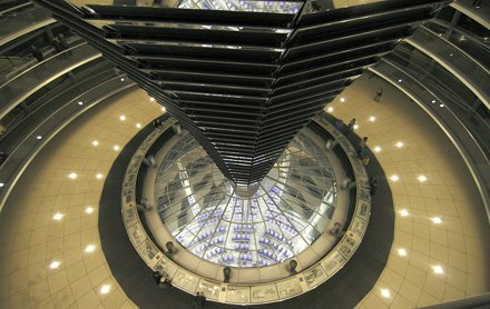 One more of the Reichstag dome