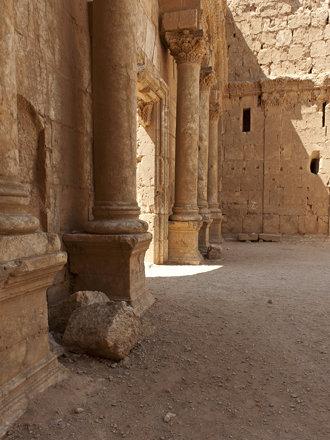 Limes Arabicus: Resafa VIII, The main Gate.