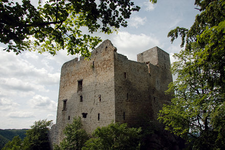 Burgruine Reußenstein auf der Schwäbischen Alb